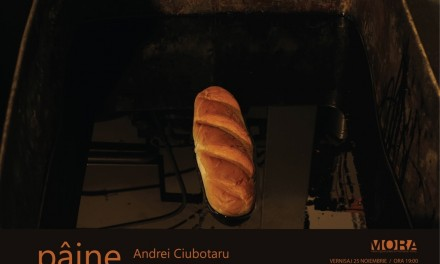 """Andrei Ciubotaru """"Pâine"""" @ Centrul de Arta MORA, București"""