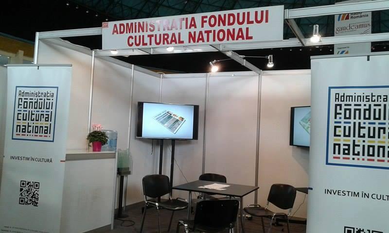 Administrația Fondului Cultural Național la Gaudeamus 2016