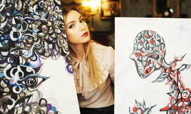 ANA NECOLAU, ARTIST VIZUAL @ TINERI ȘI NEÎNFRICAȚI