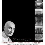 """Expoziție omagială de arhitectură """"Omul, arhitectul și profesorul Duiliu Marcu"""" @ Galeriile Municipale de Artă din Târgu-Jiu"""