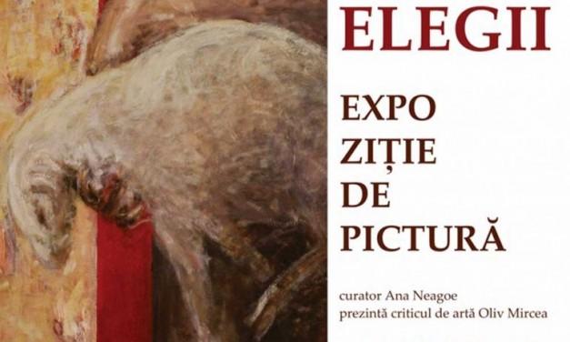 """George Mircea """"Zece elegii"""" @ Elite Art Gallery, București"""