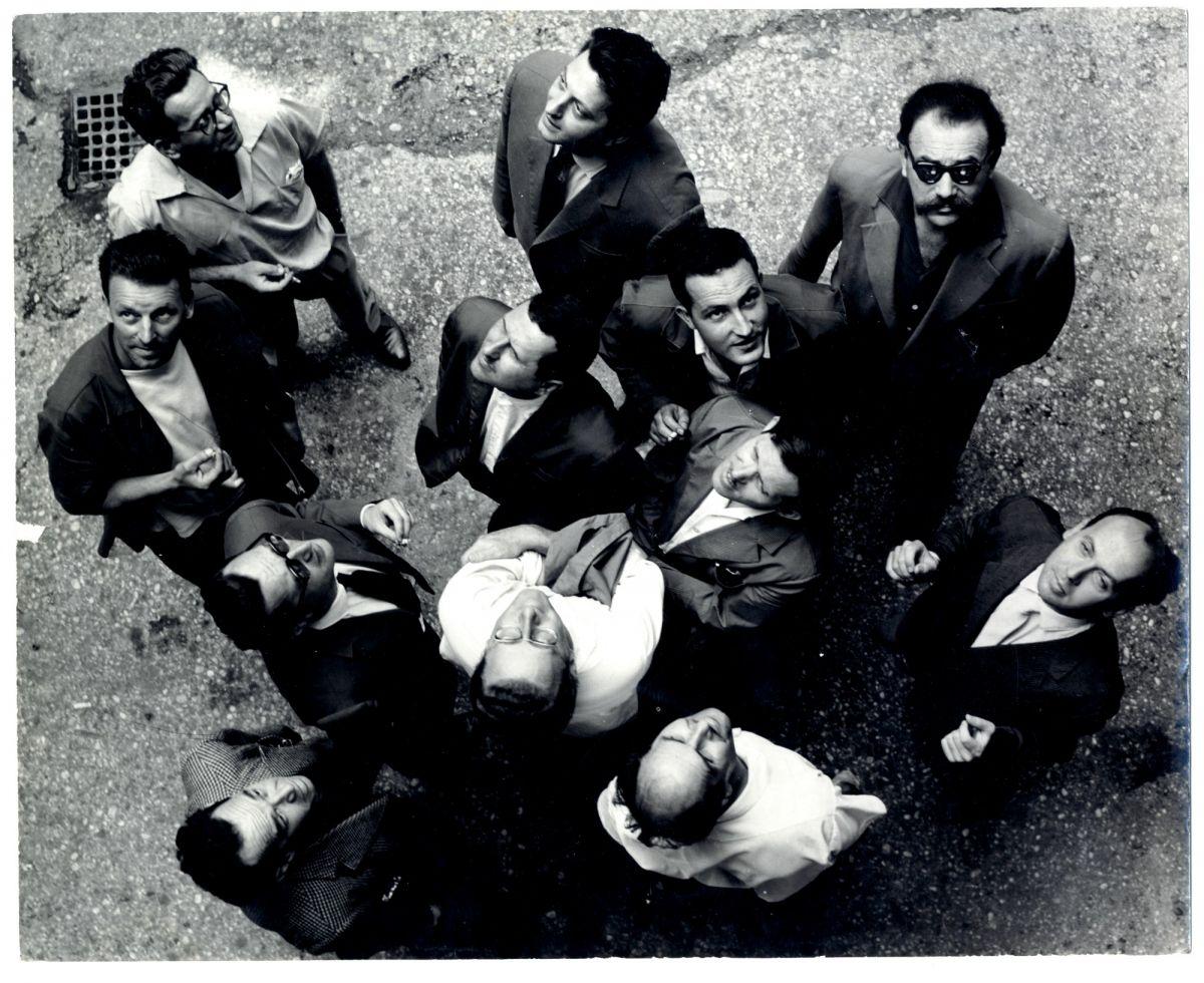 gorgona-group-gorgona-is-looking-at-the-sky-1961-bw-photograph-collective-work242-x-299-mm-photographer-branko-balic-marinko-sudac-collection