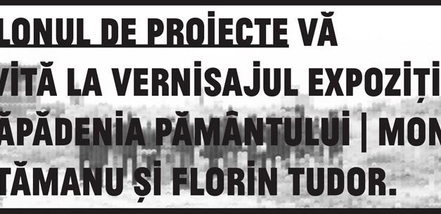 """Mona Vătămanu și Florin Tudor """"Prăpădenia pământului"""" @ Salonul de proiecte, București"""