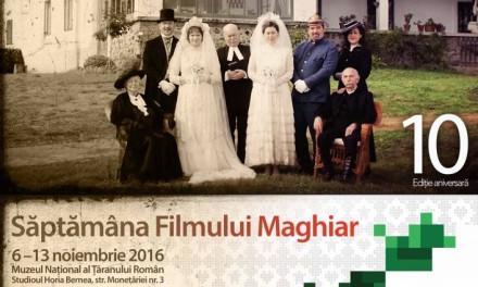 Săptămâna Filmului Maghiar la Bucureşti, ediția 10 @ Institutul Balassi – Institutul Maghiar din Bucureşti