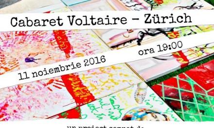 Cabaret Dada – Add to address book, la Cabaret Voltaire din Zürich