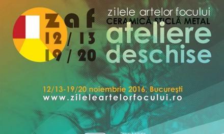 Zilele Artelor Focului. Ateliere Deschise de Ceramică, Sticlă, Metal, ediția a II-a. București,