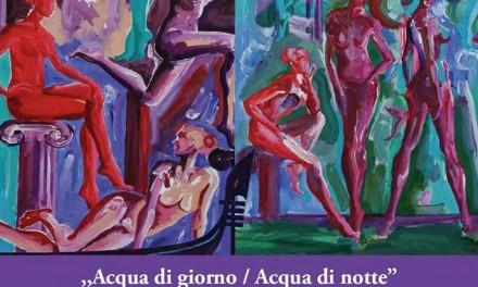 """Claudia Mandi """"Apa zilei/Apa nopţii"""" @ Mica Galerie a Institutului Român de Cultură şi Cercetare Umanistică de la Veneţia"""