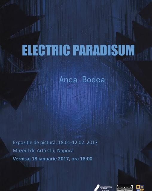 """Anca Bodea """"Electric Paradisum"""" @ Muzeul de Artă Cluj-Napoca"""