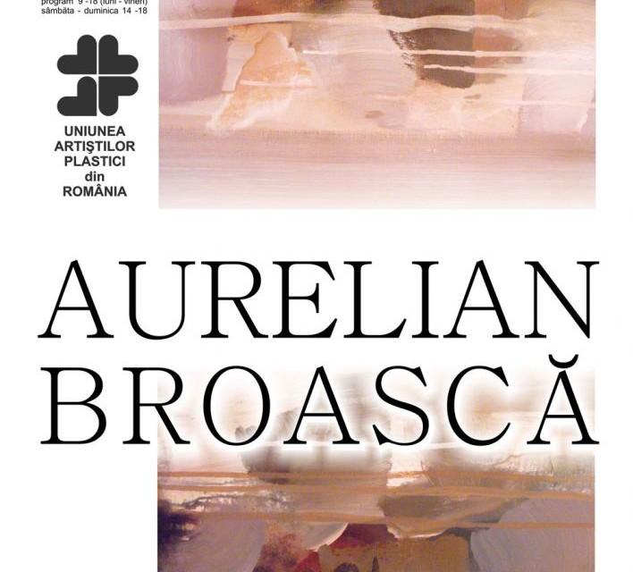 """Aurelian Broască, expoziție de pictură """"Chipuri și stări"""" @ """"U"""" Art Gallery, București"""