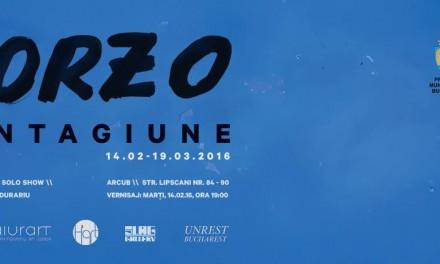 "Dumitru Gorzo ""Contagiune"" @ ARCUB"