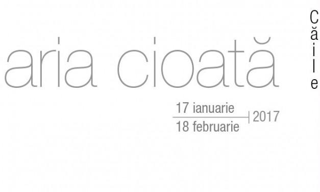 """Maria Cioata, """"Căile sufletului"""" un nou proiect Black Cube @ galeria Galateca, București"""