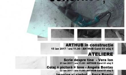 """""""Cultură în construcție"""" @ ArtHub/Carol 61, București"""