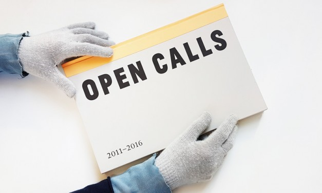 Lansare de carte: OPEN CALLS 2011–2016 @ Salonul de proiecte, București