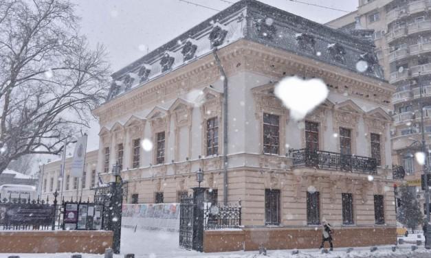 Iarna pe Calea Victoriei