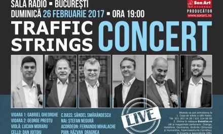 Concert TRAFFIC STRINGS @ Sala Radio București