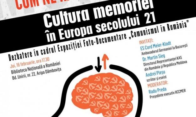 Dialog cu Andrei Pleșu despre cultura memoriei în Europa secolului 21 @ Biblioteca Națională a României