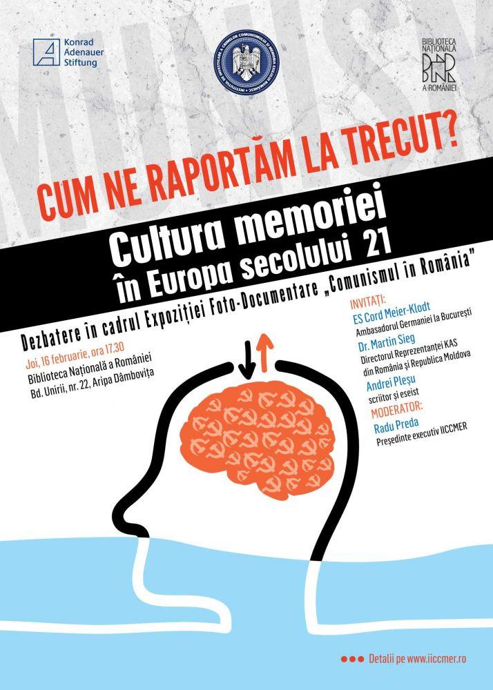 Dialog cu Andrei Plesu despre cultura memoriei in Europa secolului 21