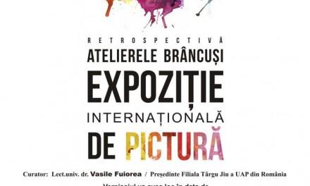 """Expoziția Internațională de Pictură """"Atelierele Brâncuși"""" – retrospectivă @ Universitatea """"Constantin Brâncuși """"din Târgu Jiu"""