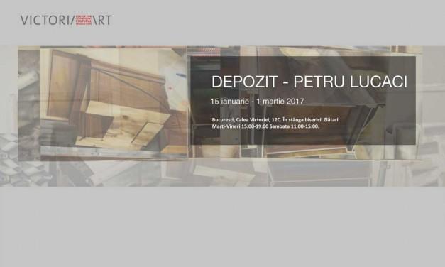 Finisaj Petru Lucaci / Cafeneaua critică cu Bogdan Lefter @ Victoria Art Center, București