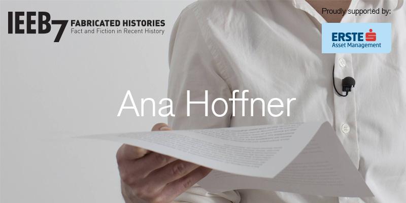 IEEB7 / Ana Hoffner: Persistența imaginii – Practica artistică în vremuri de conflict.