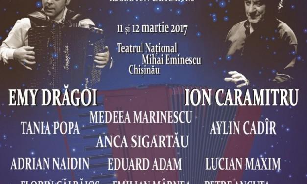 """Turneul """"Teatru Românesc la Bucureşti, Iaşi şi Chişinău"""" continuă cu MAGIC NAȚIONAL"""