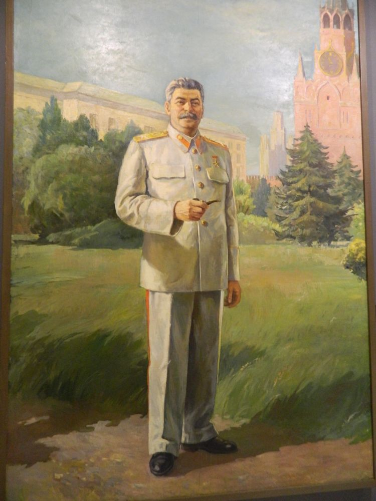 Stalin in alb