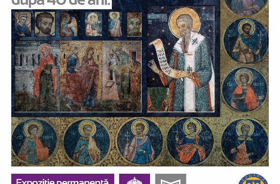 """Expoziția """"În apropierea sfinților – frescele Mănăstirii Văcărești după 40 de ani"""" @ Muzeul Municipiului București"""