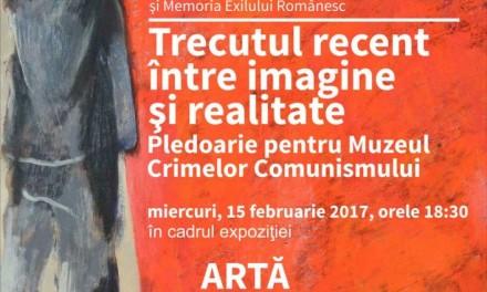 Preşedintele executiv IICCMER susţine o conferinţă la Muzeul Naţional de Artă al României, cu prilejul expoziţiei despre plastica oficială din România comunistă