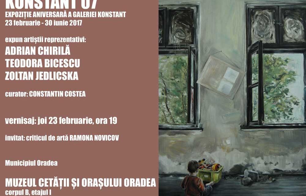 """Moment aniversar – """"Konstant 07"""" @ Muzeul Cetăţii şi Oraşului Oradea"""