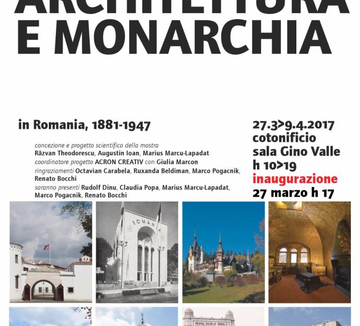 """""""Arhitectură și Regalitate"""" @ Institutul Universitar de Arhitectură din Veneția"""