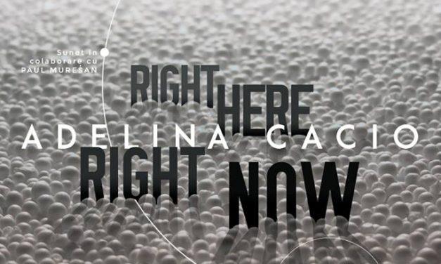 "Adelina Cacio, ""Right Here, Right Now"" @ Atelier 4, Cluj-Napoca"