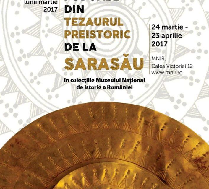 Podoabe din tezaurul de la Sarasău @ Muzeul Naţional de Istorie a României