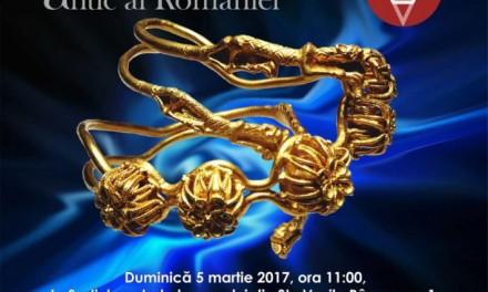 """""""Aurul și argintul antic al României"""" la Muzeul """"Vasile Pârvan"""" din Bârlad"""