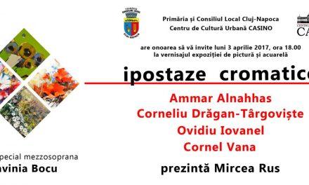 IPOSTAZE CROMATICE @ Centrul de Cultură Urbană CASINO din Cluj