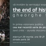 "Gheorghe Fikl, ""The End of History"" @ Galeria AnnArt, București"