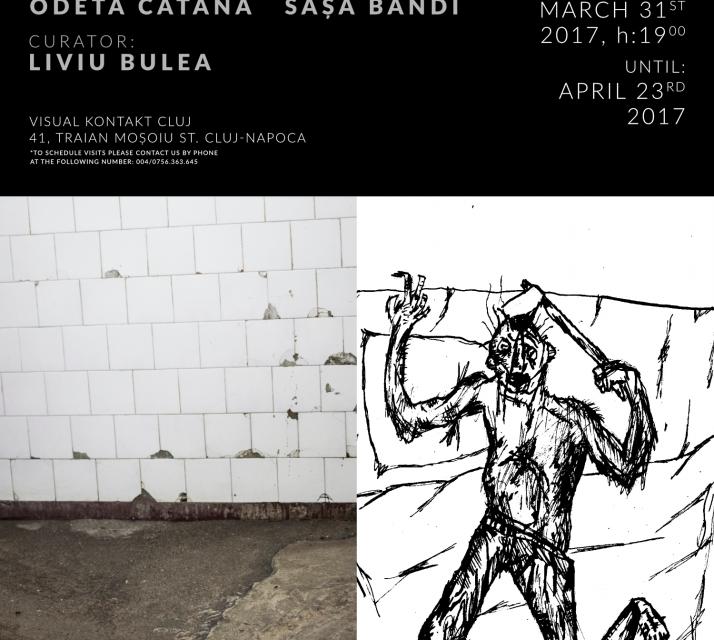 """Sașa Bandi, Odeta Catană """"Inside"""" @ Visual Kontakt Cluj"""