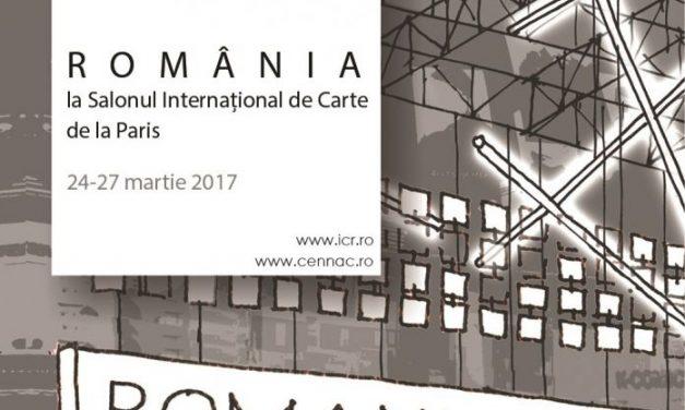 Standul României se deschide vineri la Salonul Cărții de la Paris. Diagonales et confluences franco-roumaines
