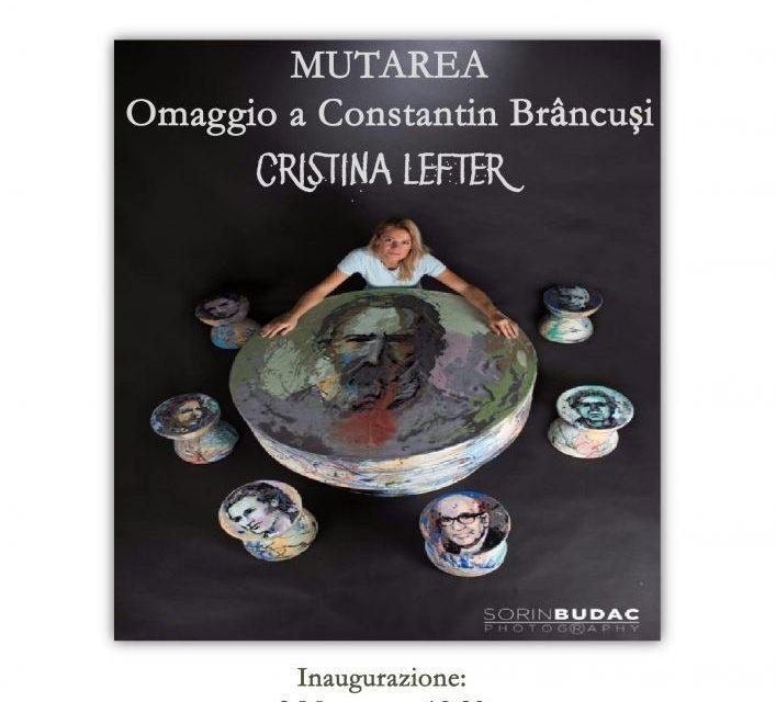 """Expoziţia de pictură, """"Mutarea"""" a artistei Cristina Lefter @ Accademia di Romania la Roma"""