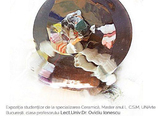 """""""Inside – Out, Expoziție MASTER anul I, Ceramică"""" @ Galateea Contemporary Art, București"""