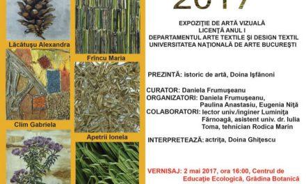 """PLANT ART 2017 @ Grădina Botanică """"D. Brandza"""""""