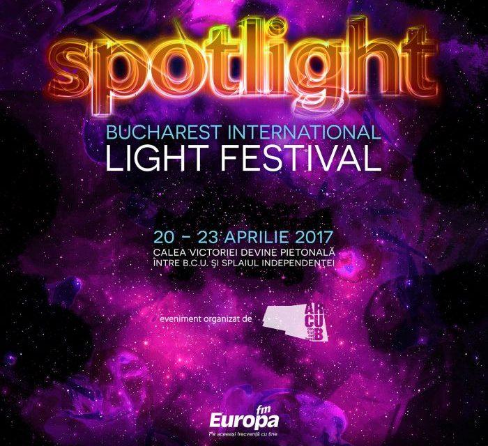 Începe a treia ediție a Festivalului Internațional al Luminii – SPOTLIGHT