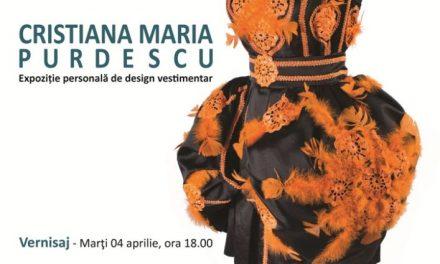 """Cristiana Maria Purdescu """"Veșmânt │Formă, Culoare, Magie"""" @ Galeria Orizont, București"""