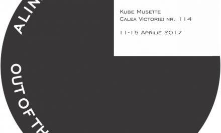 """Alina Aldea """"Out of the Black"""" @ Kube Musette, București"""