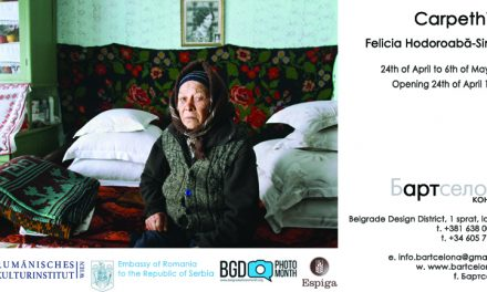 "Expoziţia ""Carpethian"" de Felicia Simion la Belgrade Photo Month Festival"