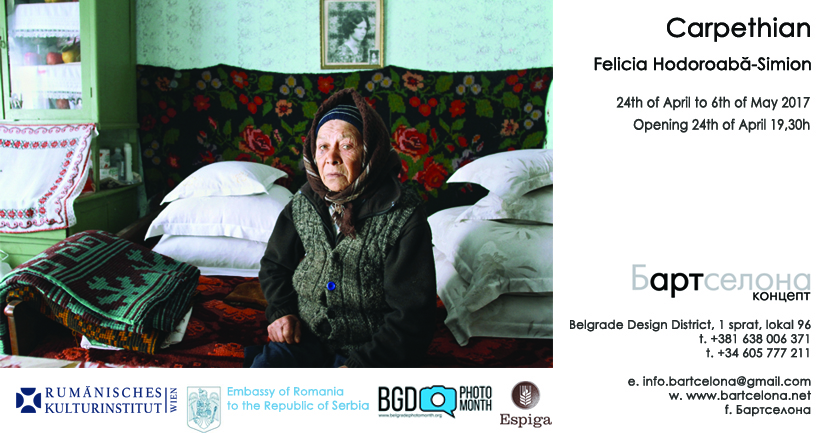 "Expoziţia ""Carpethian"" de Felicia Simion la Belgrade Photo Month Festival"