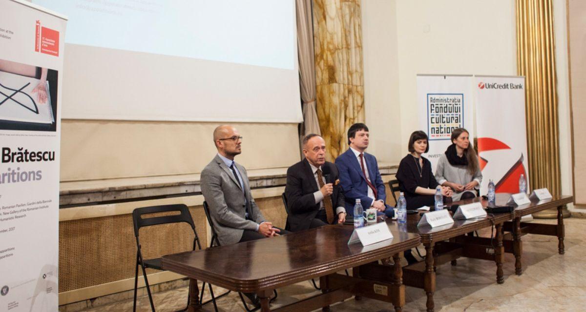 Lansarea Geta Brătescu – Apariții, Participarea României la Bienala de Artă de la Veneția 2017