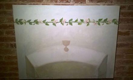 "Expoziția ""Floarea de măr"", Delia și Vlad Corban, Galeria Pygmalion, Timișoara"