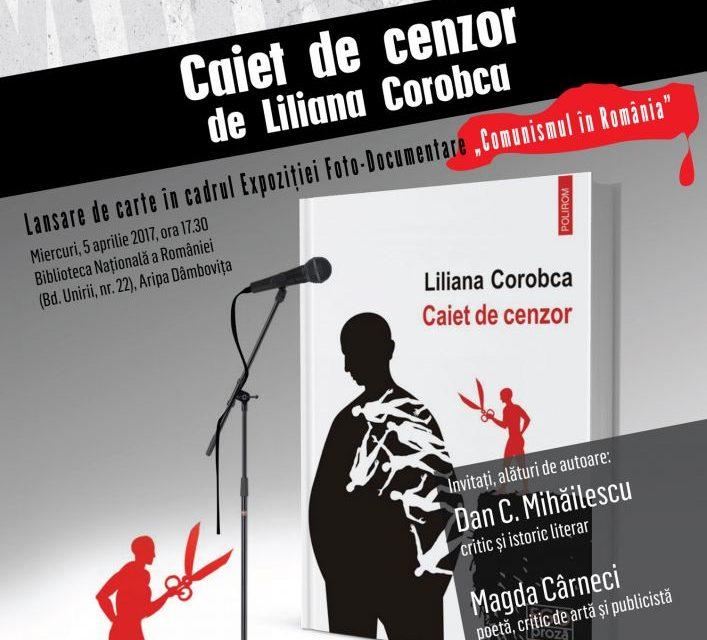 Lansarea unui volum inedit despre cenzura din perioada comunistă are loc pe 5 aprilie la Biblioteca Naţională a României