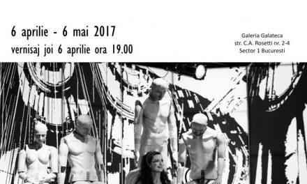 """Octavian Neculai """"FLUXURI ȘI LUMINI ÎN ALB-NEGRU. Gânduri, cărări și locuri în spațiul scenic"""" @ Galeria Galateca, București"""