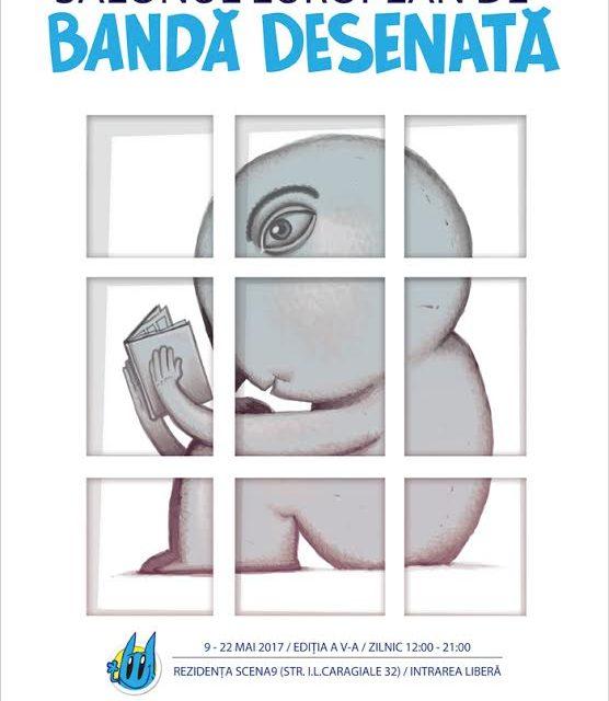Cea de a V-a ediție a Salonului European de Bandă Desenată, în mai la București